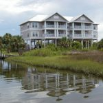 Florida Waterfront Condo Horseshoe Beach Exterior View