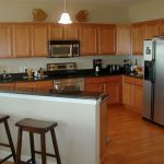 Florida Waterfront Condo Horseshoe Beach Kitchen