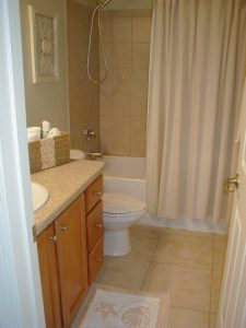 Florida Waterfront Condo Horseshoe Beach Bathroom