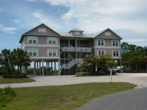 Florida Waterfront Condo Horseshoe Beach Exterior