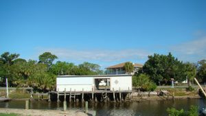 Florida Waterfront Home with Gulf View - Horseshoe Beach, Florida - Compass Realty of North Florida - canal view
