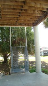 Florida Waterfront Home with Gulf View - Horseshoe Beach, Florida - Compass Realty of North Florida - freight elevator