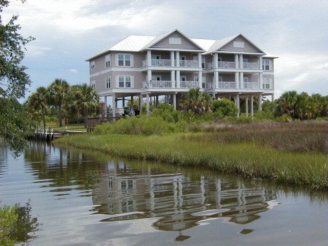 Florida Waterfront Condo with Spectacular View of the Gulf in Horseshoe Beach.