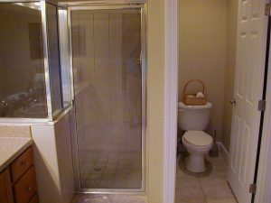 Florida Waterfront Condo Horseshoe Beach Bathroom