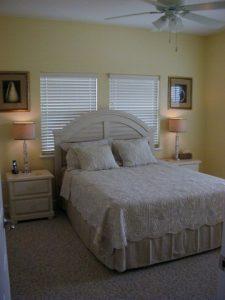 Florida Waterfront Condo Horseshoe Beach Bedroom
