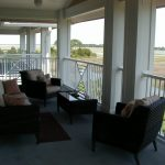 Florida Waterfront Condo Horseshoe Beach Deck View