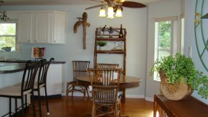 Florida Waterfront Home with Gulf View - Horseshoe Beach, Florida - Compass Realty of North Florida - dining area
